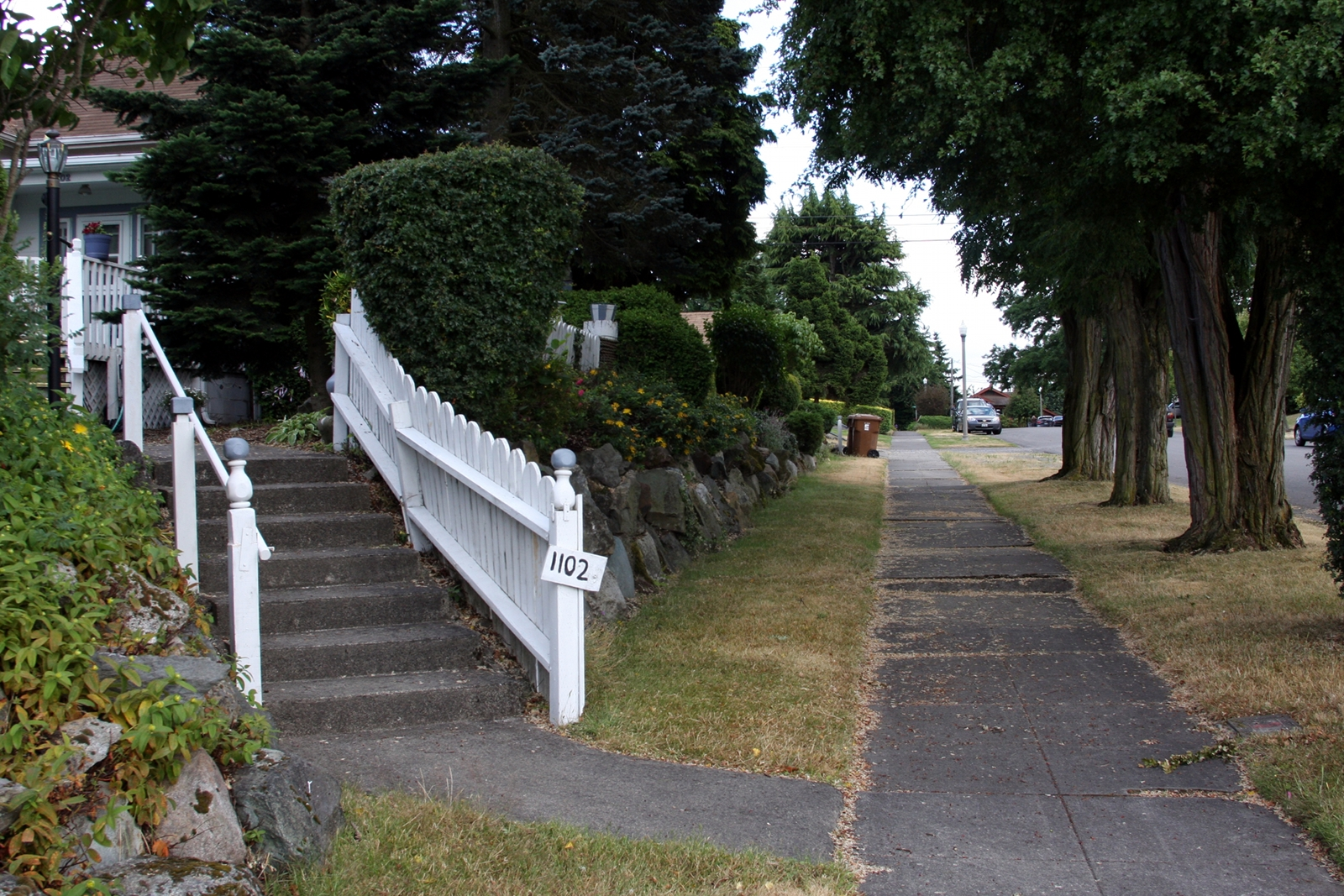 Like many of the neighborhoods in Tacoma, McKinley is filled with charming older homes.