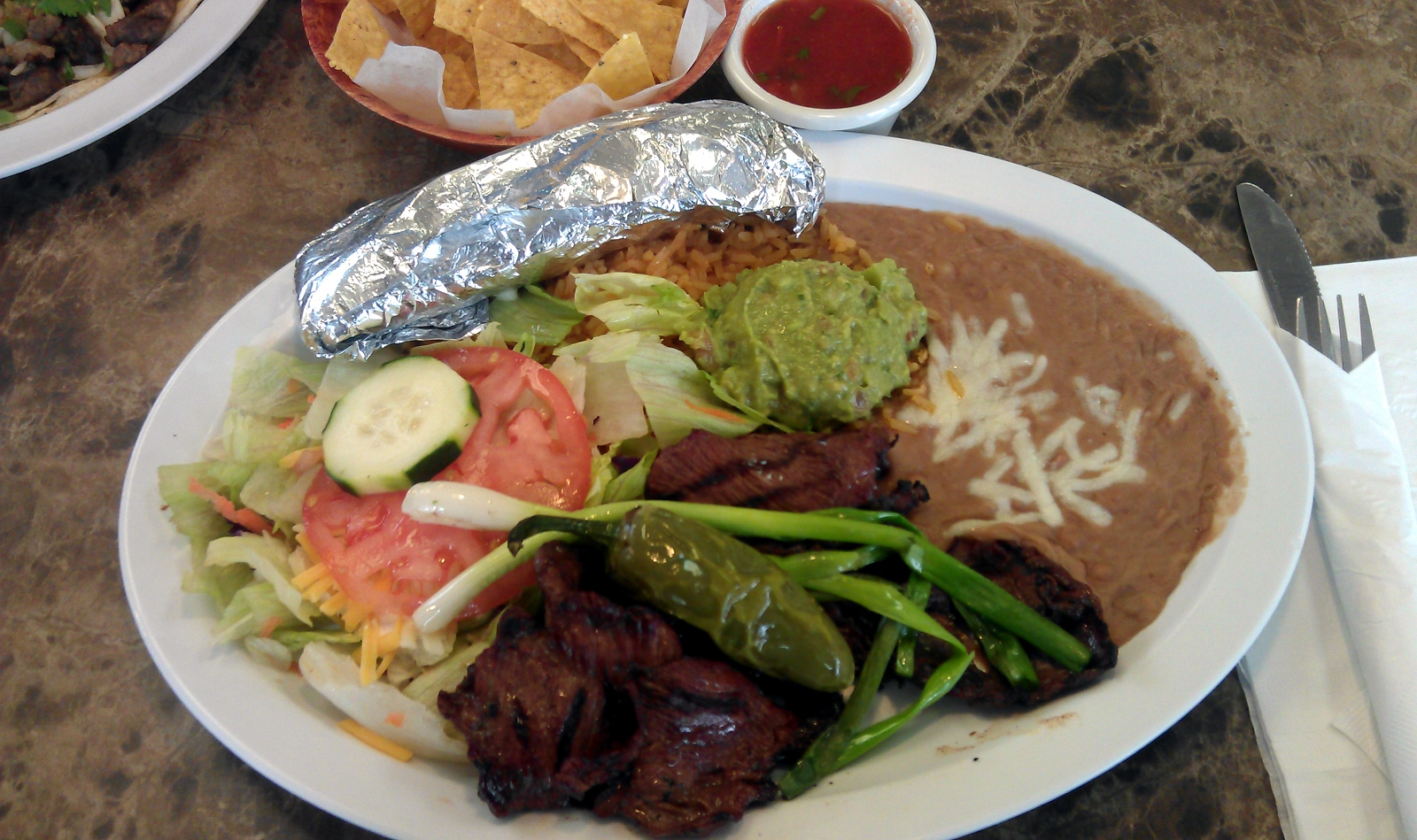 Taqueria El Antojo: Taqueria El Antojo (3801 E McKinley Ave) has the combination of quality Mexican food that is both affordably priced and served incredibly fast. Enjoy an entree like carnitas or carne asada with fresh-made tortillas, and top off your meal at their colorful salsa bar.