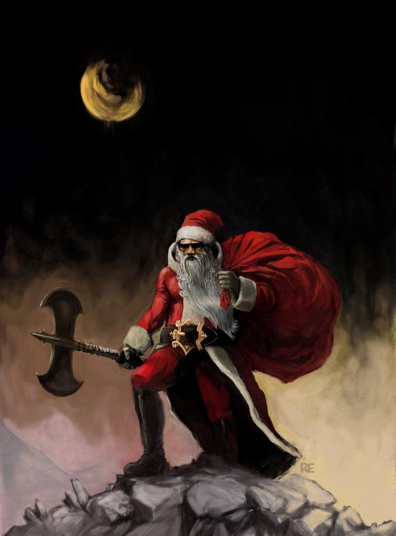 Post Defiance » Does Frank Frazetta Believe in Santa?