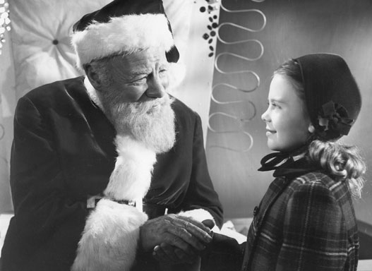 Still from the classic Miracle on 34th Street