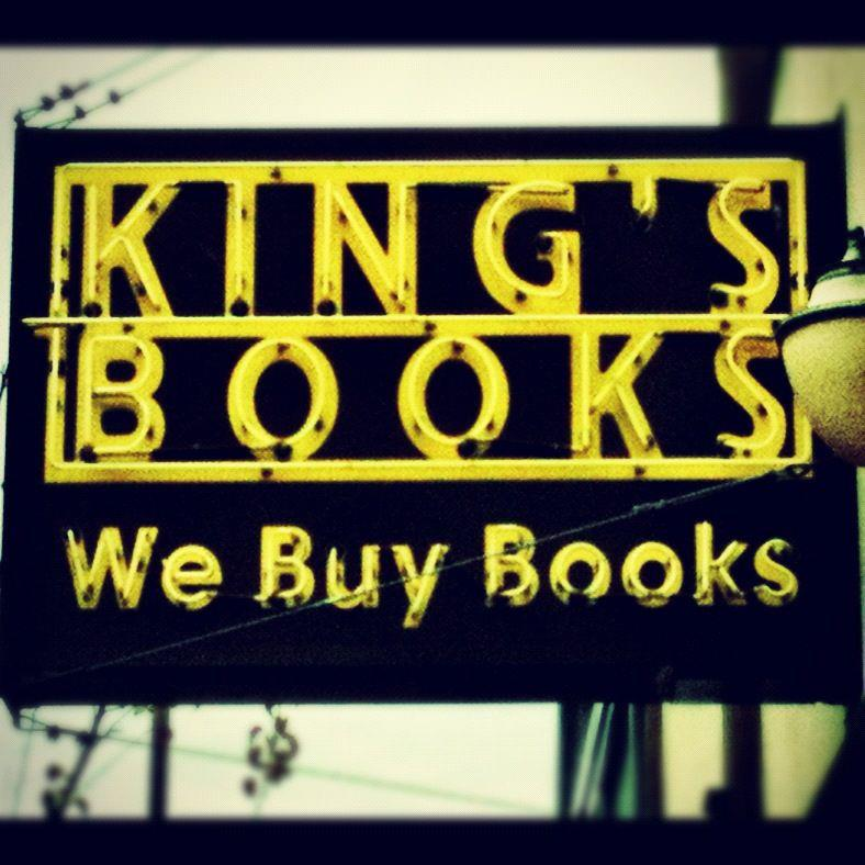 King's Books sign, photo by J. Daniel Elquist