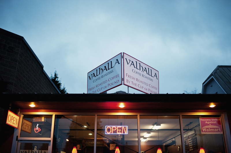 Valhalla Coffee Company is located at 3918 6th Avenue  Tacoma, WA 98406.