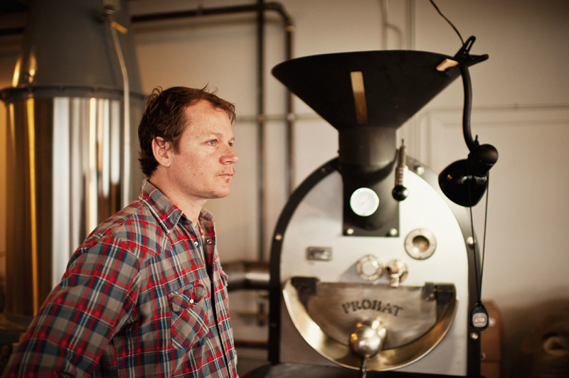 Kevin McGlocklin is owner and roaster of Bluebeard Coffee.