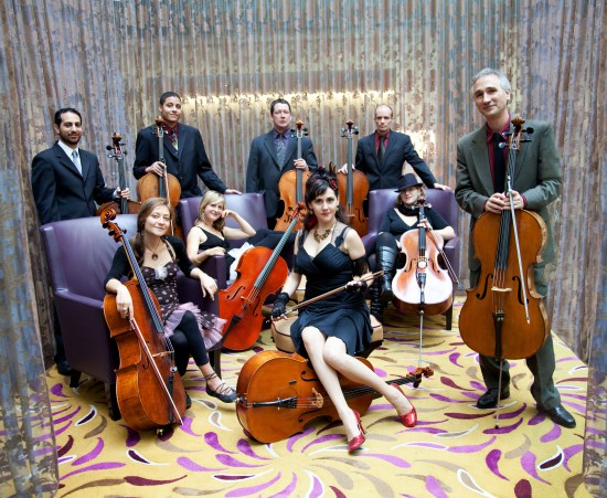 The Portland Cello Project. Courtesy of the Broadway Center for the Performing Arts