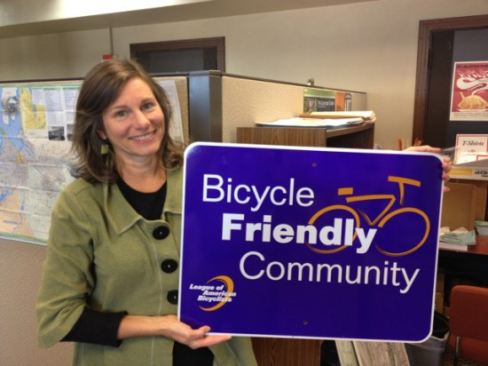 Diane with Bike Friendly Community