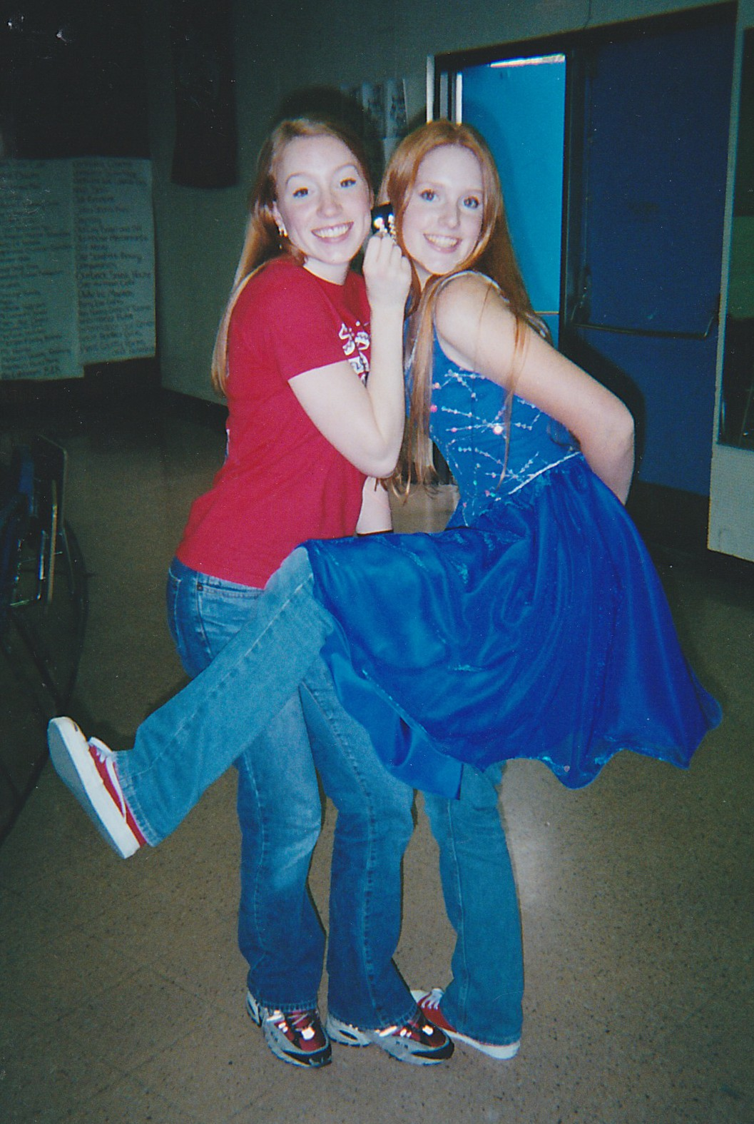Taken at the beginning of my Senior Year of High School, this picture shows the long red hair for which I was known during my teen years.