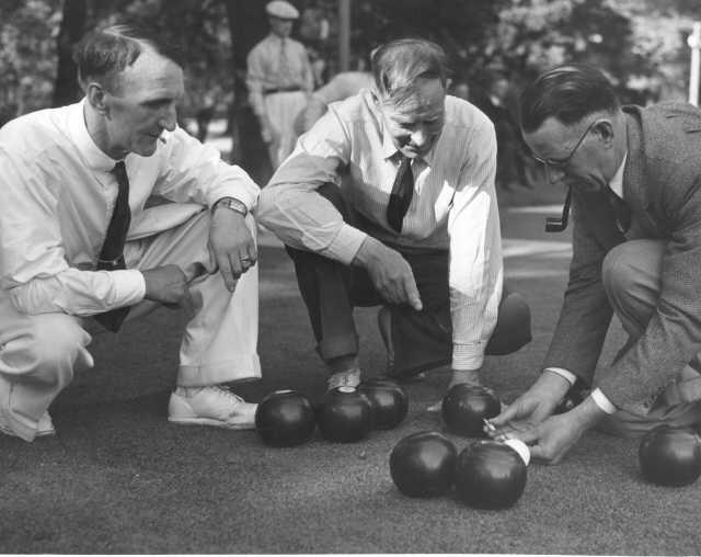 Lawn Bowlers 1938