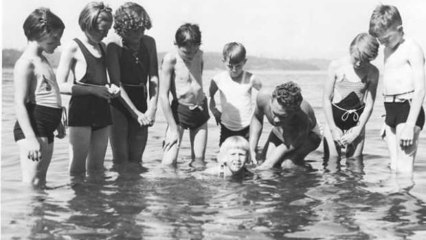 Tacoma Library Archives  07-11-1937 Swimming Holes