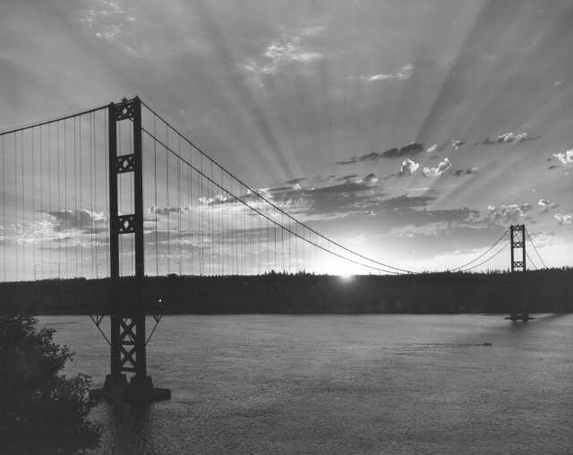 Tacoma Narrows Bridge 1960