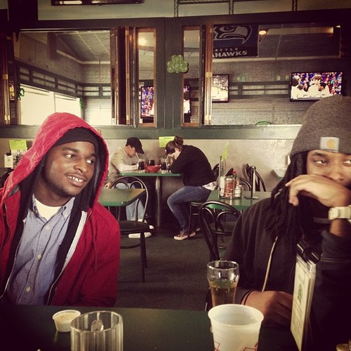Khris P and UGLY FRANK (picture courtesy of EvergreenOne)