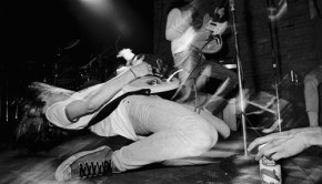 (Charles Peterson's iconic Mudhoney concert photograph)