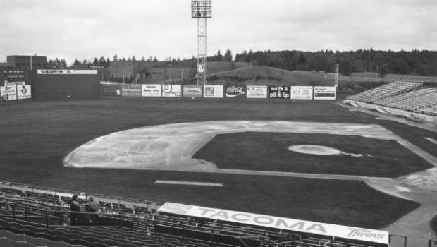 Cheney Stadium in 1976