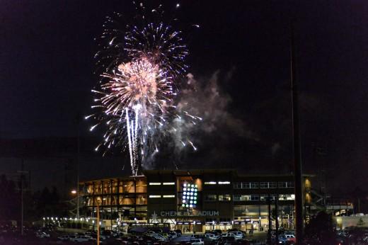 Cheney Fireworks