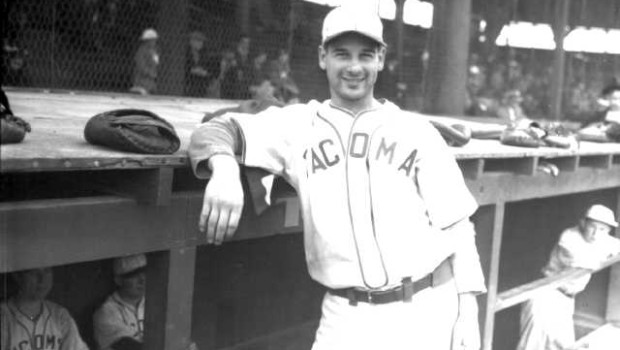 A Tacoma baseball player in 1937