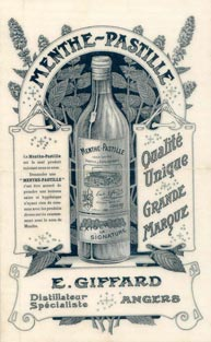 Vintage Giffard advertisement