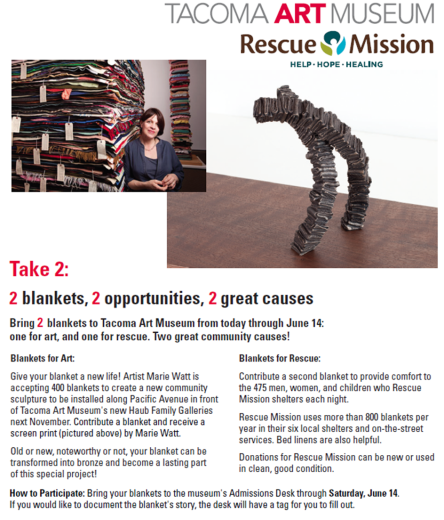 TAM Rescue Mission Blankets
