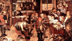 The Village Lawyer 1621 Pieter Brueghel the Younger