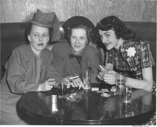 ladies drinking