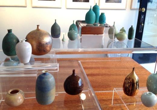 Curio pots by Jon Almeda