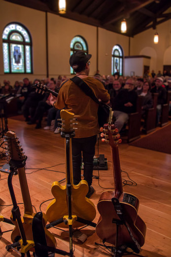 Vicci Martinez performs at Immanuel Presbyterian Church's Blues Vespers with Jimmy Vivino.