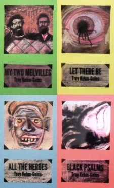 All four of Troy Kehm-Goins' poetry chapbooks, all available at Nearsighted Narwhal