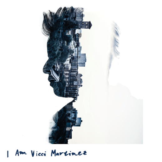 "Album cover for "" I Am Vicci Martinez"" Photograph by Scott Haydon, design by Faith Stevens."