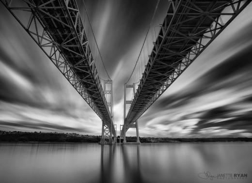 Narrows Bridges, photograph by Janette Ryan