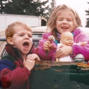 Siblings Nick and Melissa