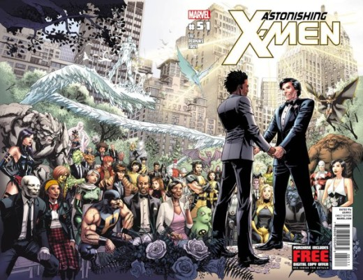 2012 cover of Astonishing X-Men #51