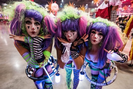 Performers at the 2014 FreakNight. Photo by Jason Woo.