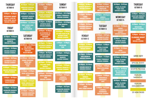 TFF Schedule at a Glance